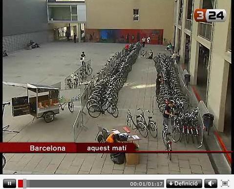 Les bicicletes Bicicampus ja estan al carrer