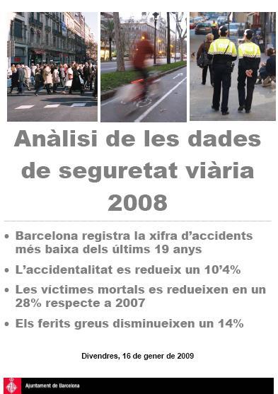 Els accidents de bici creixen un 11% a Barcelona