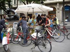 Los usuarios de la bici en Barcelona hacen 90.000 desplazamientos cada d