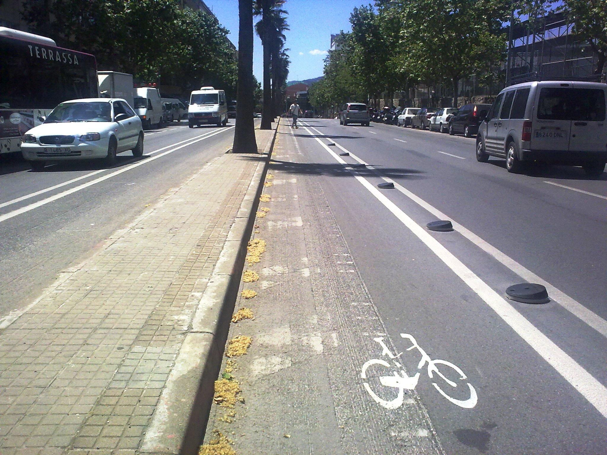 El BACC demana un carril bici que connecti els municipis del Vall