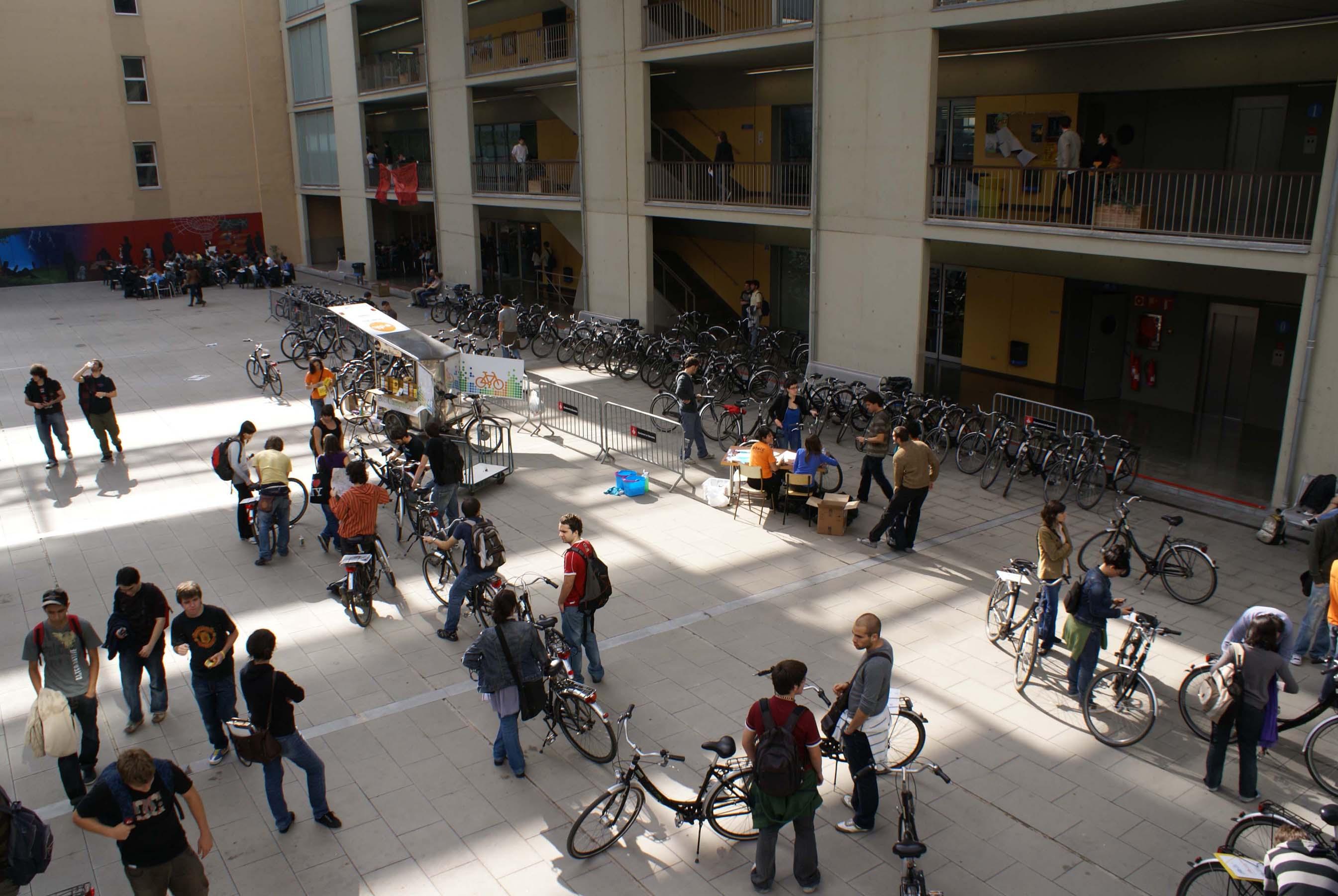 Les bicicletes Bicicampus tornen a la Universitat