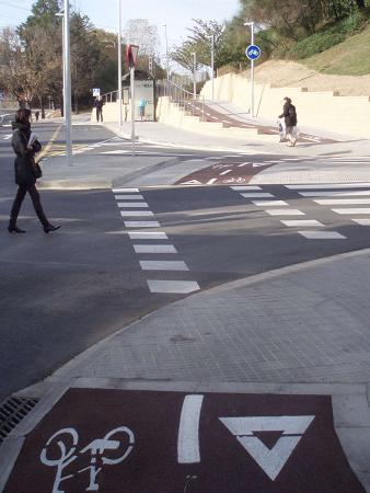 Probici-BACC de Sant Cugat satisfet pel nou carril bici