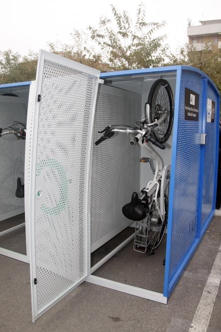 l'EMT impulsa el Bicibox, un sistema d'aparcaments segurs per a bicicletes privades