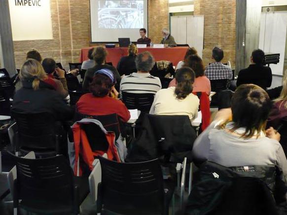 """El BACC presenta el projecte """"Amb Bici a l'Institut"""" a Osona"""