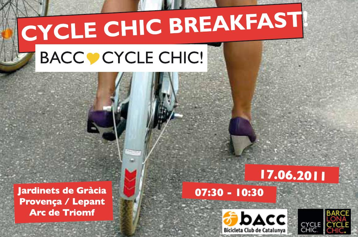 Cycle Chic Breakfast Barcelona
