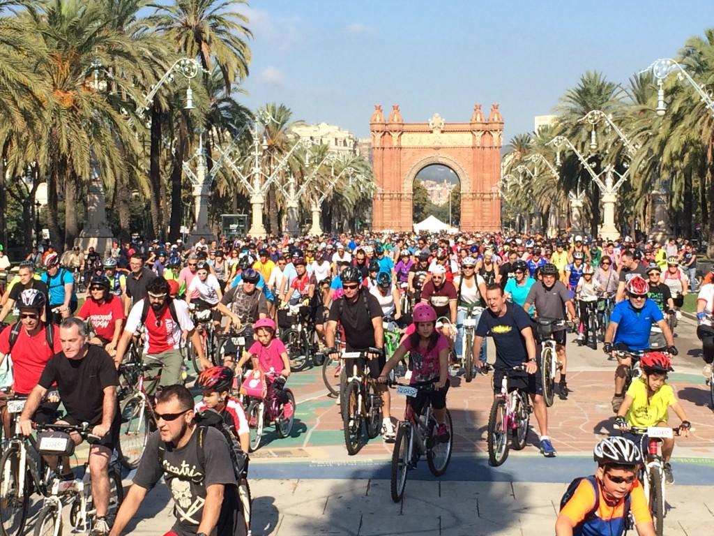 Bicicletada 22 Octubre: Pedala per la Meridiana! #SomMeridiana