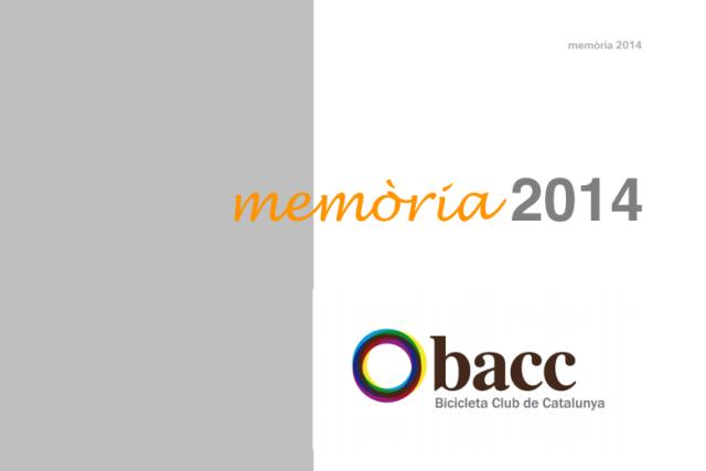 Portada memòria 2014