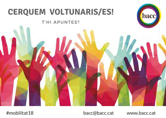 Cerquem voluntaris/es – Participa!