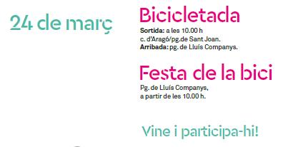 Festa bicicleta Barcelona 2019