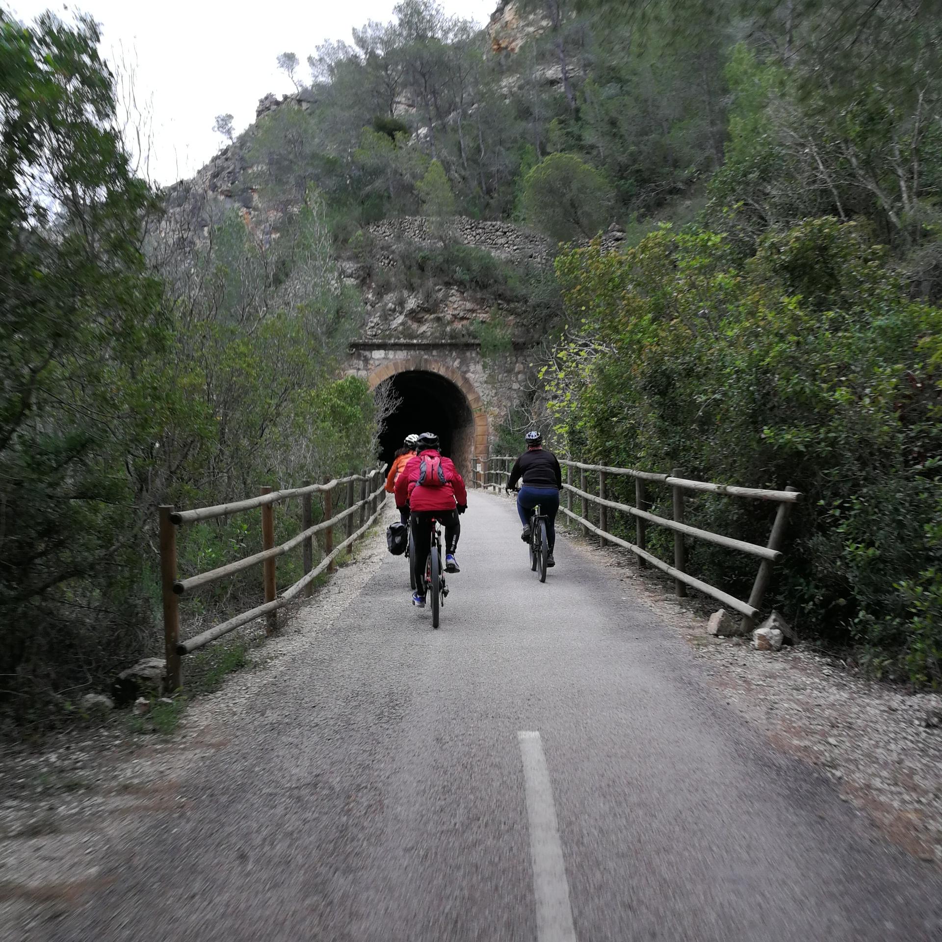 Via Verda de la Val de Zafán en bicicleta | bacc