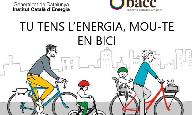"""260 alumnes participen al taller """"Tu tens l'energia: Mou-te en bici!"""" organitzat per l'Institut Català d'Energia amb la col·laboració del Bacc."""