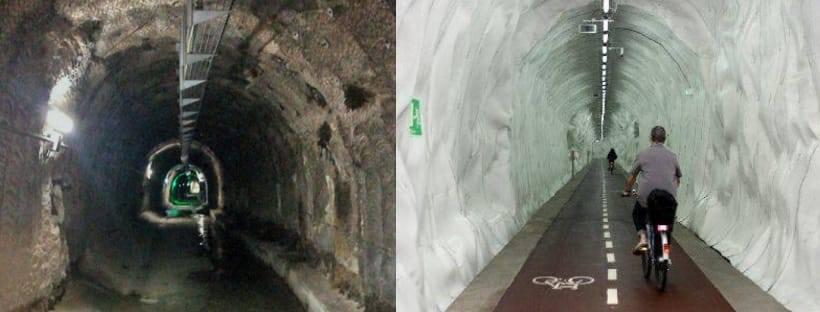 Bikevidrera: Bicis per un túnel. Dona'ns un cop de pedal!