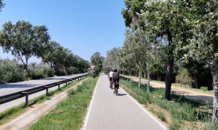 A la platja del Prat del Llobregat amb bici? Sí!