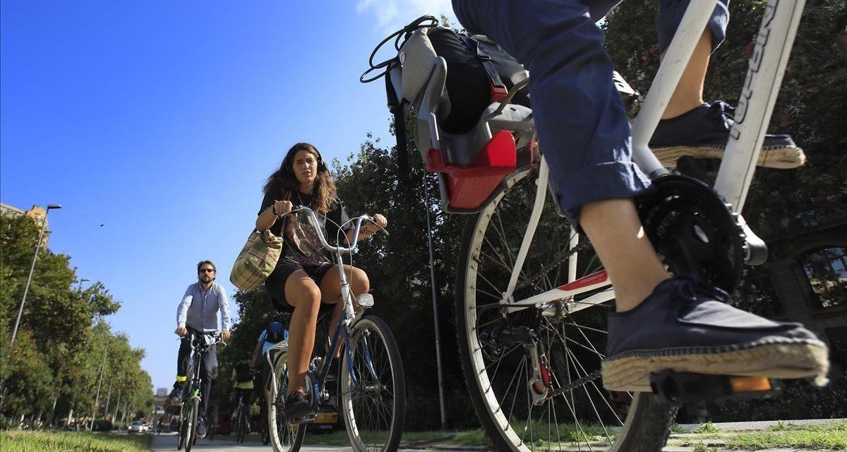 La red ciclista en Barcelona no está lista para la ZBE (Zona de bajas emisiones)