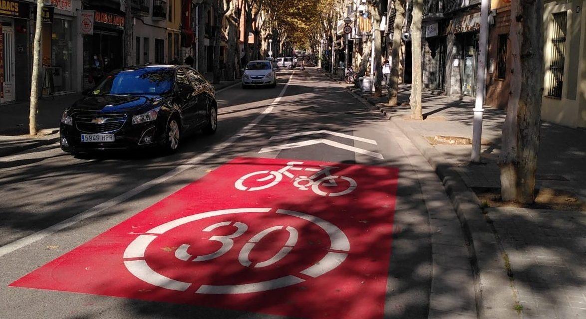 És l'Eix Central de Sabadell segur per a la bici?