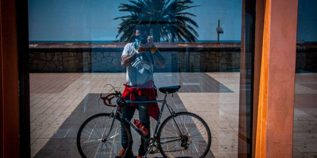 """Testimonis ciclistes: Xavier Calvo """"La bici és el meu missatge, i la càmera el meu missatger"""""""