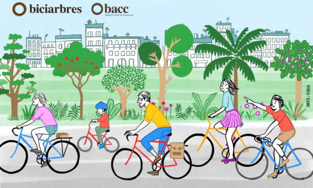 Biciarbres: Ruta de l'aigua. Itinerari guiat amb bici pels espais verds de Barcelona.