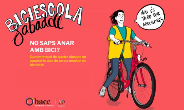 Biciescola: Aprèn a anar amb bici a Sabadell